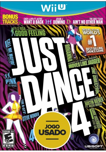 Just Dance 4 - WiiU ( Usado )