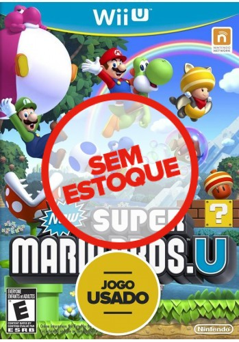 New Super Mario Bros U - WiiU ( Usado )