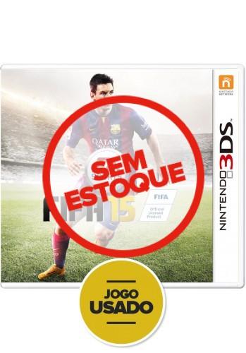 FIFA 15 (seminovo) - 3DS
