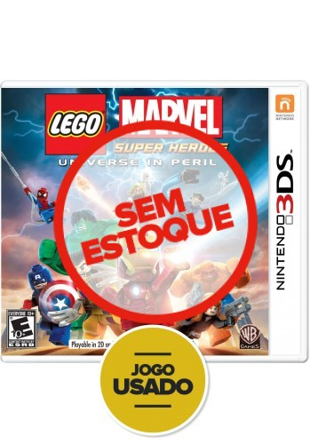 Lego Marvel Super Heroes (seminovo) - 3DS