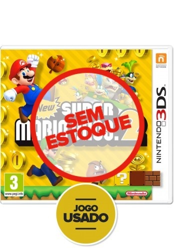 New Super Mario Bros 2 (seminovo) - 3DS