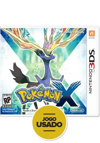 Pokémon X - 3DS ( Usado )