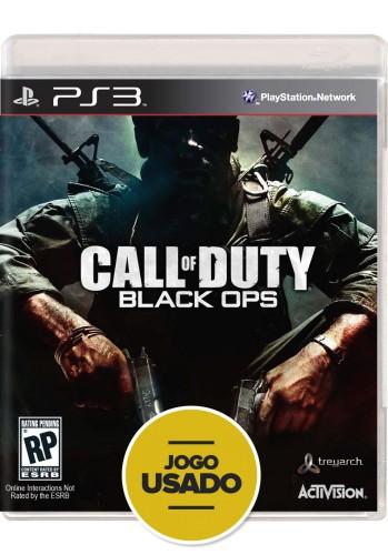 Call of Duty: Black Ops (seminovo) - PS3