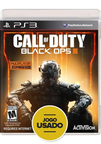Call of Duty: Black Ops 3 (seminovo) - PS3