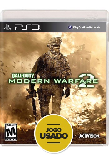 Call of Duty: Modern Warfare 2 (seminovo) - PS3