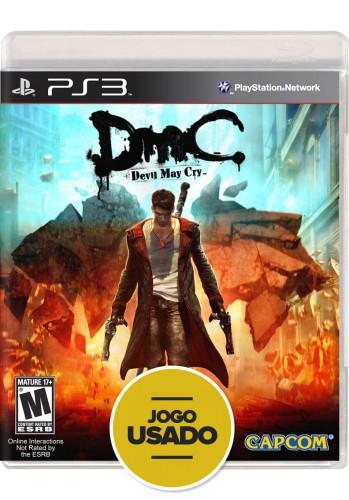 DmC: Devil May Cry (seminovo) - PS3