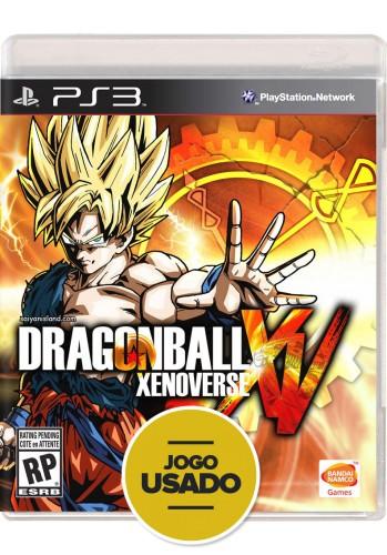 Dragon Ball Xenoverse (seminovo) - PS3