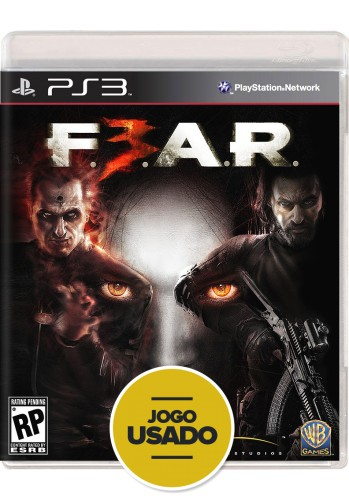 Fear 3 (seminovo) - PS3