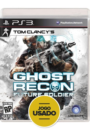 Ghost Recon: Future Soldier (seminovo) - PS3