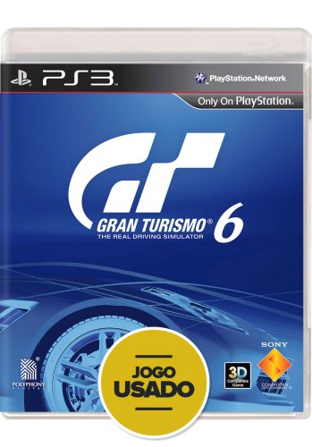Gran Turismo 6 (seminovo) - PS3