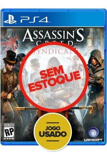 Assassins Creed: Syndicate - PS4 ( Usado )