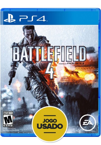 Battlefield 4 (seminovo) - PS4