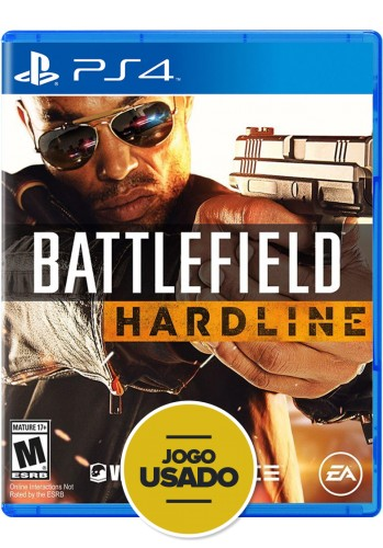 Battlefield Hardline (seminovo) - PS4