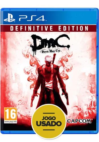 DmC Devil May Cry: Definitive Edition (seminovo) - PS4