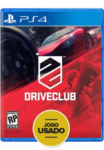 Driveclub (seminovo) - PS4