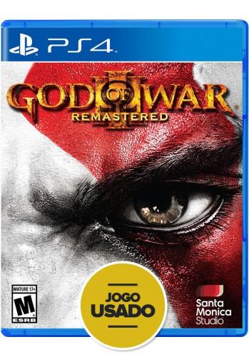 God Of War III - Remasterizado - PS4 ( Usado )