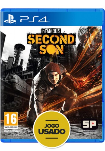 Infamous Second Son - PS4 ( Usado )