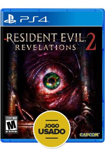 Resident Evil Revelations 2 (seminovo) - PS4