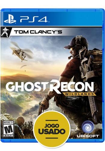 Tom Clancy's Ghost Recon: Wildlands - PS4 ( Usado )