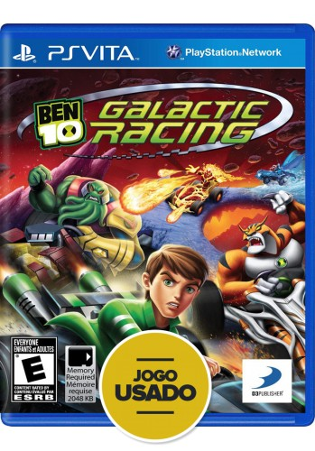 Ben 10: Galactic Racing (seminovo) - PS VITA
