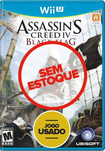 Assassins Creed 4: Black Flag - WiiU ( Usado )