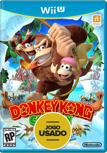 Donkey Kong Country Tropical Freeze - WiiU (Usado)