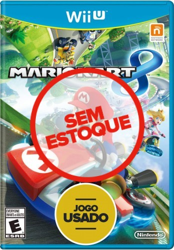 Mario Kart 8 - WiiU ( Usado )