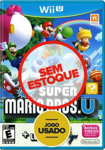 New Super Mario Bros. U + New Super Luigi U - WiiU ( Usado )