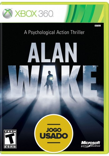 Alan Wake (seminovo) - Xbox 360