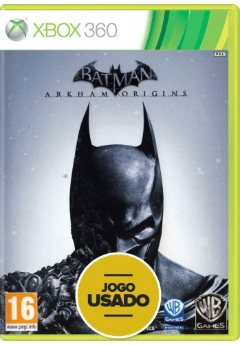 Batman: Arkham Origins (seminovo) - Xbox 360