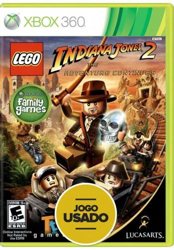 Lego Indiana Jones 2: The Adventure Continues (seminovo) - Xbox 360