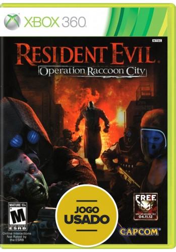 Resident Evil: Operation Raccoon City - Xbox 360 ( Usado )