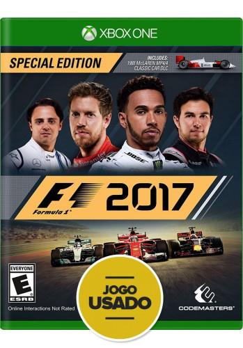 Formula 1 2017 - F1 - Xbox One (Usado)
