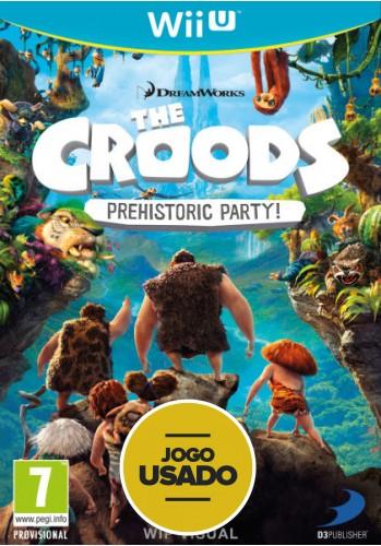The Croods - WiiU ( Usado )