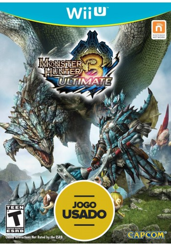 Monster Hunter 3 Ultimate - Wii U  ( Usado )
