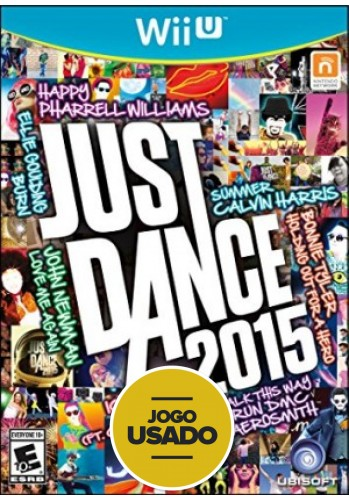 Just Dance 2015 - WiiU ( Usado )