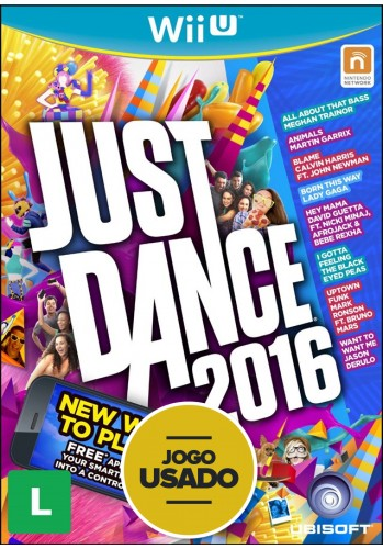 Just Dance 2016 - WiiU ( Usado )