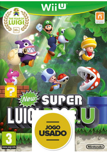New Super Luigi U - WiiU ( Usado )