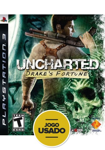 Uncharted: Drake´s Fortune (seminovo) - PS3
