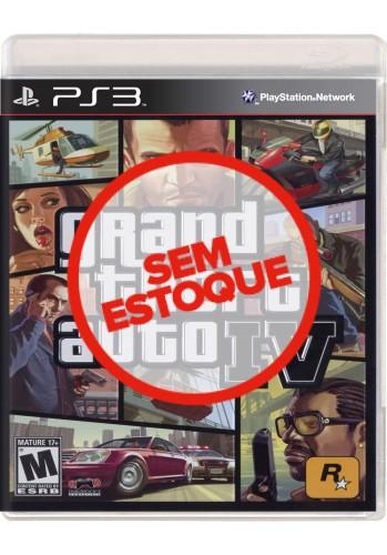 GTA IV (Grand Theft Auto) - PS3