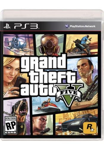 GTA V (Grand Theft Auto) - PS3