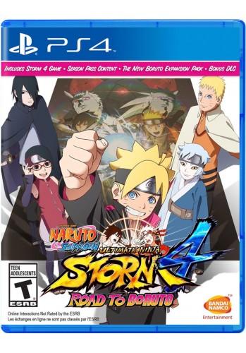 Naruto Shippuden: Ultimate Ninja Storm 4 Road to Boruto - PS4 (Usado)