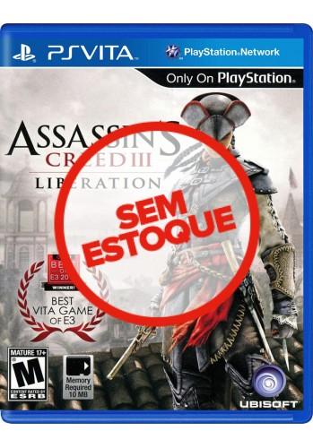 Assassin's Creed III: Liberation - PS VITA