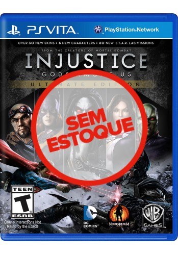 Injustice Gods Among Us - PS VITA